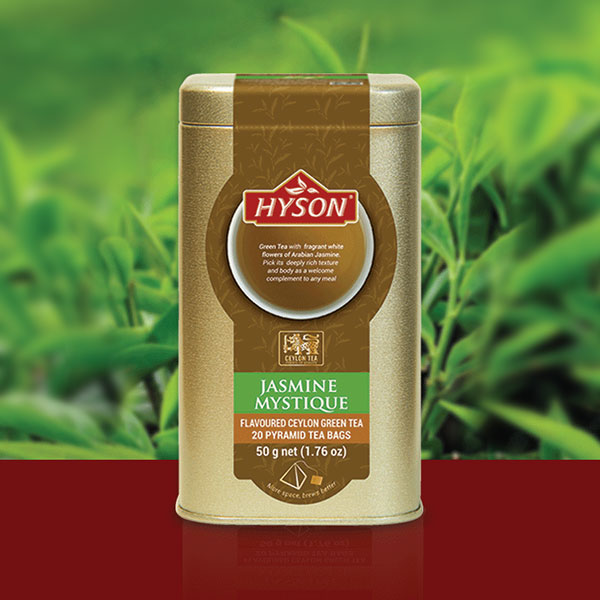 Jasmine Mystique Green Tea - Pyramid Tea Bags