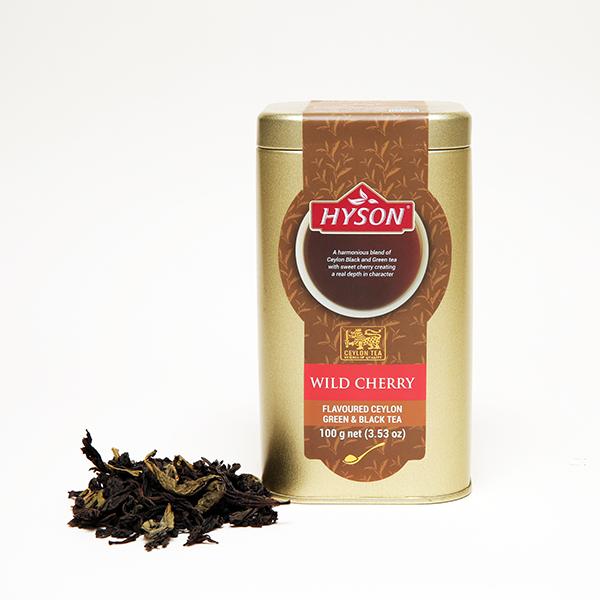 Wild Cherry Green/Black Tea - Leaf Tea
