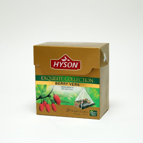 Berry Vera  Green Tea - Pyramid Tea Bag