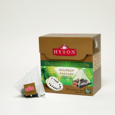Soursop Fantasy Green Tea - Pyramid Tea Bags